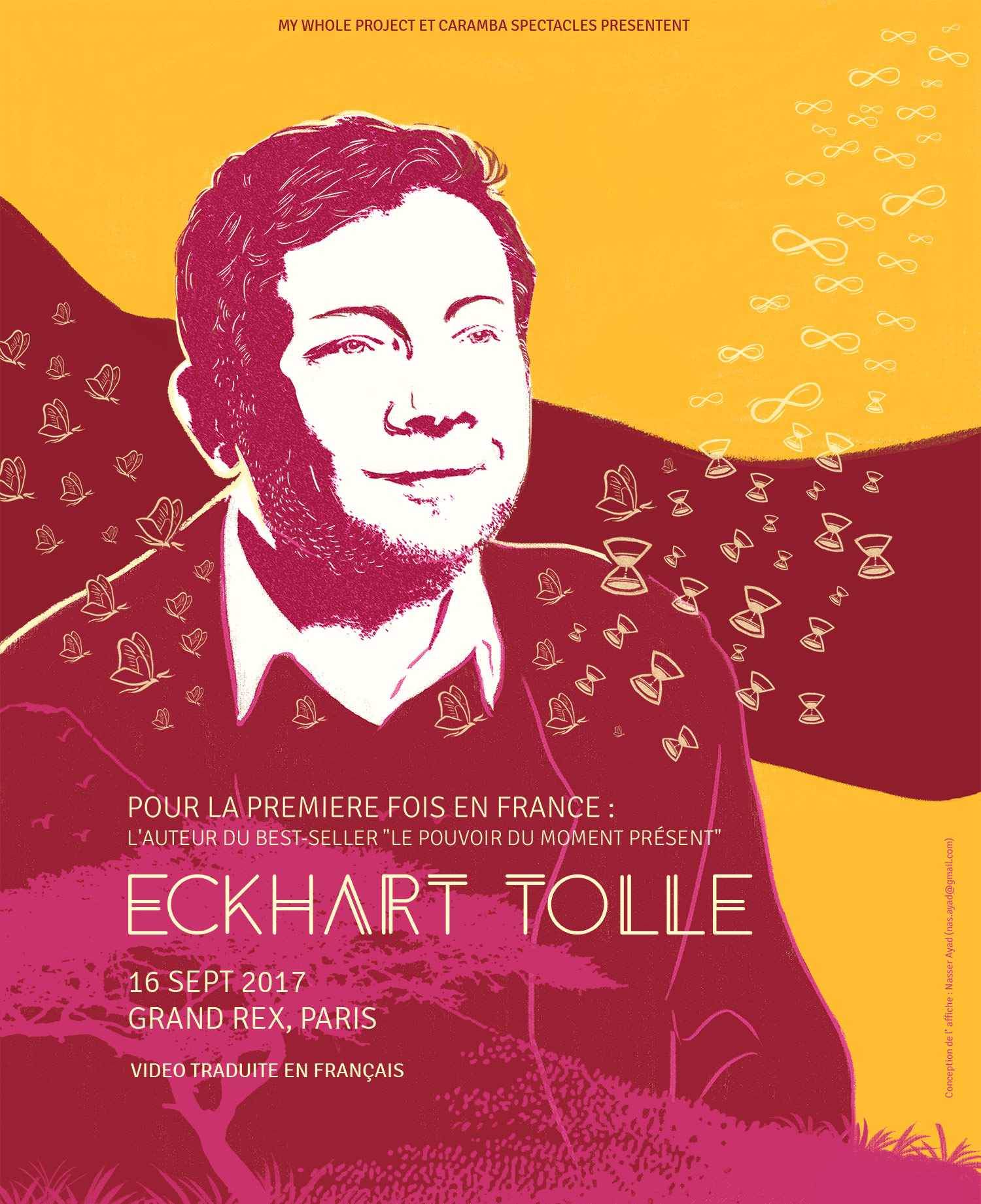 Eckhart Tolle 2017 GRAND REX Paris 01forlife mywholeproject